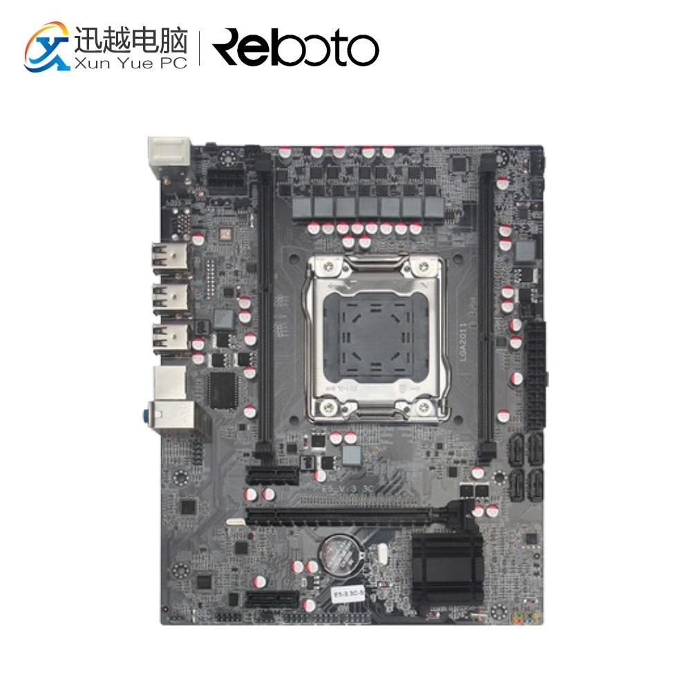 все цены на 100% Runing New X79-D Desktop Motherboard X79 LGA 2011 DDR3 16G For i3 i5 i7 All-Solid ATX On Sale
