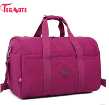 TEGAOTE 2017 Nylon Waterproof Women Travel Bags Large Capacity Ladies Luggage Travel Duffle Bags Travel Handbags Baby bag 282