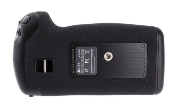 ФОТО meike MK-5DSR Vertical Battery Grip hand pack holder For canon 5Ds 5DSR 5D III camera as BG-E11