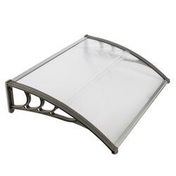 100x80 Бытовая применение двери окна дождевик карнизы навес белый серый кронштейн