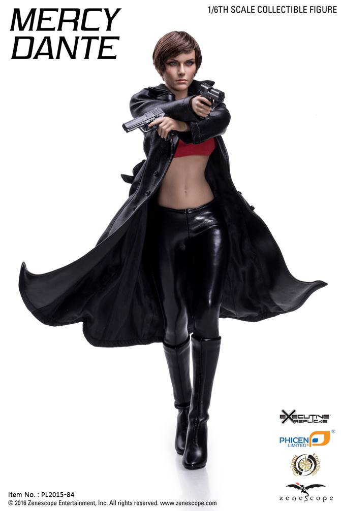 Mercy Dante 1/6th scale Action Figure PL2015-84 Female Seamless Body w Stainless Steel Armature W Headsculpt Collections