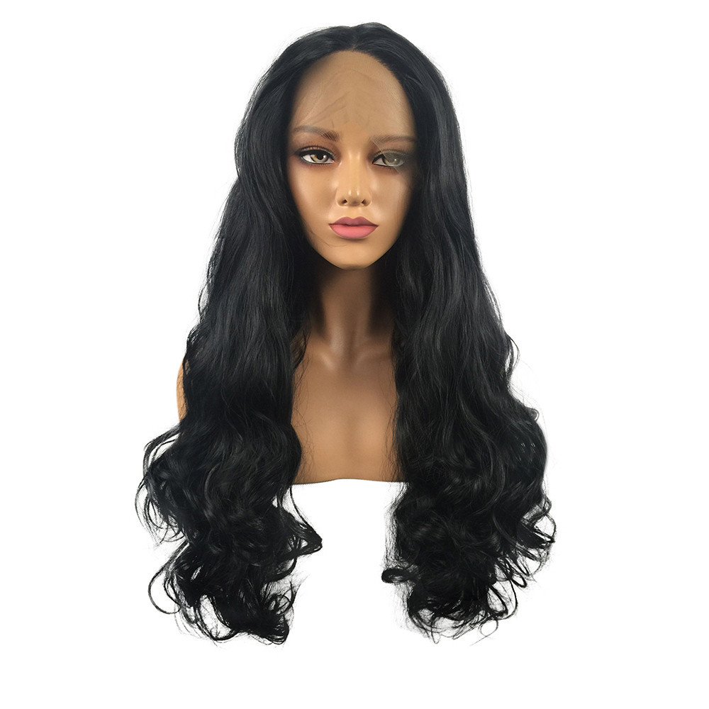 Hair Care Wig Stands Human Hair Wigs Body Wave Natural Black Lace Front Wig Glueless Women 26inch Wig Drop shipping Aug13 anogol braids twist handmade burgundy glueless heat resistant hair natural wigs lace synthetic front wig