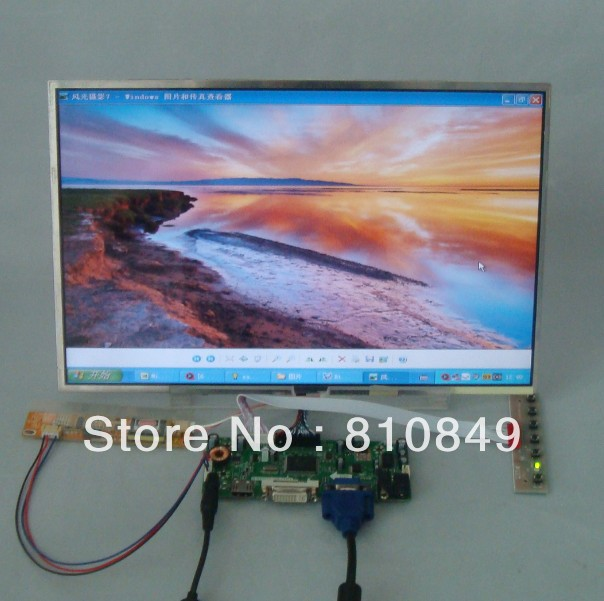 HDMI+DVI+VGA Control board+15.4inch 1680*1050 LP154W02 LTN154P1 N154Z1 Lcd panel  LTN154P2 LP154WE2 N154Z1 B154SW01 QD15AL01 hdmi dvi vga audio control board work for 22inch m220ew01 v0 1680 1050 lcd panel