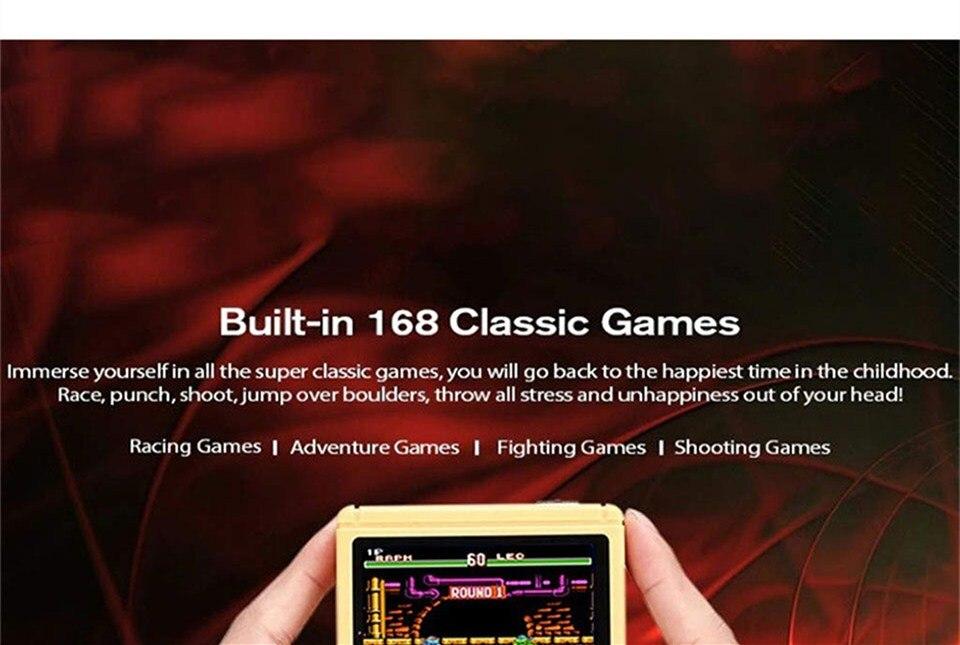 Video consola incorporada de 168 clásicos 5