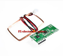 Free shipping! UART 125Khz EM4100 RFID Card Key ID Reader Module RDM6300 (RDM630) For Arduino
