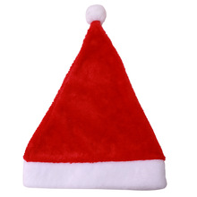 Christmas Hat for Baby Adult Plush Santa Claus Hat for Christmas Party Decoration New Year Decoration Kids Gift