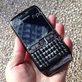 100% Оригинал Nokia E71 Mobile Phone 3 Г, Wifi, GPS 5MP Восстановленное Разблокирована Арабский Русская Клавиатура
