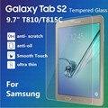 Para Samsung Galaxy Tab S2 T710 T715 8.0 pulgadas T810 T815C 9.7 pulgadas de Cristal Templado Film Protector de Pantalla A Prueba de Explosiones y Regalo