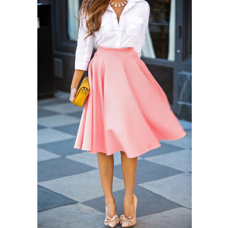 Popular Pleated Midi Skirt-Buy Cheap Pleated Midi Skirt lots from ...