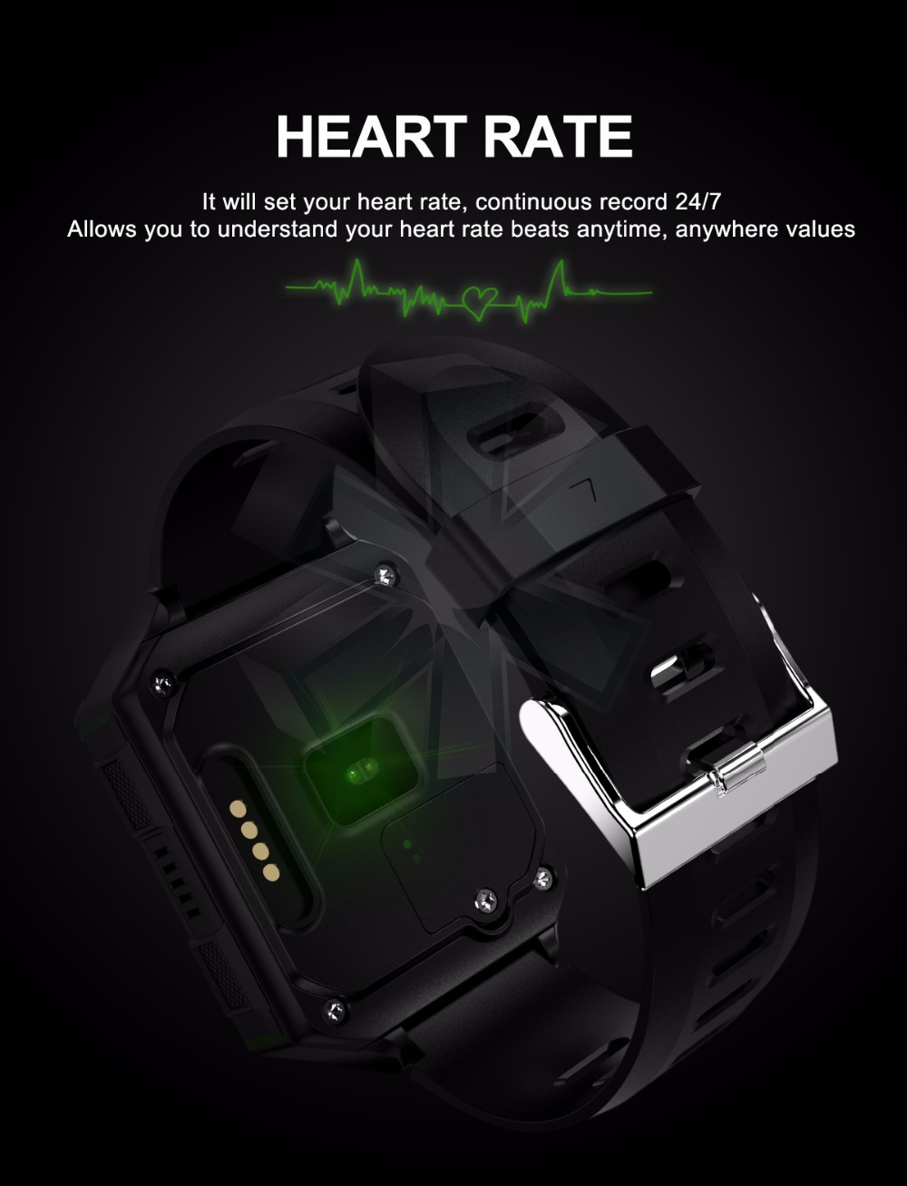 4G Montre Smart Watch Nouveau M9 Android 6.0  Soutien WIFI Nano SIM avec la Fréquence Cardiaque Moniteur de pression Artérielle