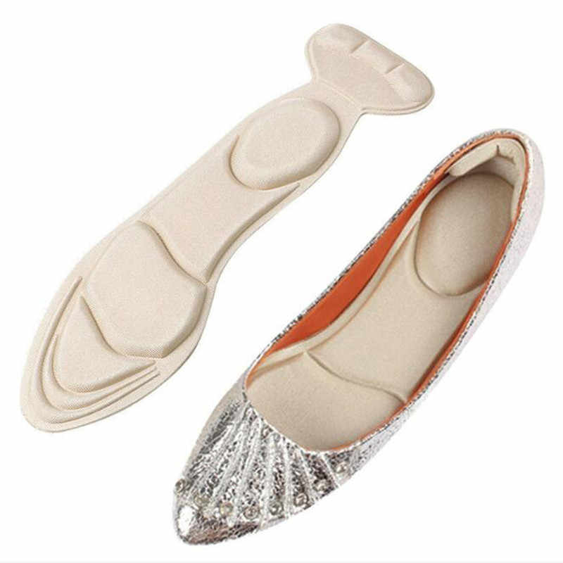 1 Pair Insole Pad Inserts Heel Post Back Breathable Anti-slip for High Heel Shoe New Shoe Cushion Arch Support Insoles
