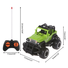 RC Car 1:43 4WD Electric Radio Remote Control Rock Off-Road Driving Truck Toys 1 12 scale electric rc rock crawlers 4x4 remote control toys rc car 4wd off road driving car w 2 motors drive radio control rtr