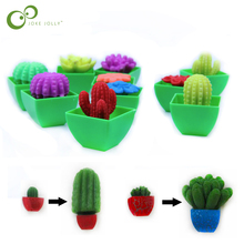 5 шт. выращивание в воде цветок кактуз бонсай Расширение игрушка в форме растения волшебные игрушки для детей кактус может выращивать игрушки GYH