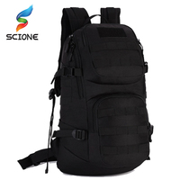 Top Quality Nylon Outdoor Sport Tactical Backpack Camping Men's Military Bag For Cycling Hiking Climbing Trekking Rucksack