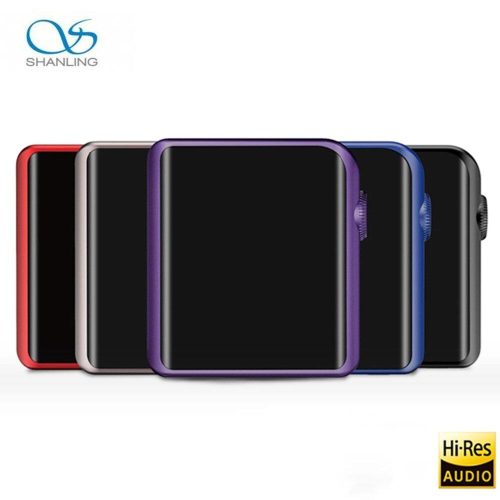 Shanling M0 Bluetooth MP3 плеер Сенсорный экран плеера Поддержка USB Aduio Micro TF карты мини Спорт без потерь