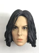 1/6 Kate Beckinsale Underworld Selene Head Sculpt BROWN eyes for PALE 12 body Action figure toys