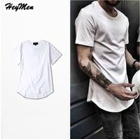 Mens Big And Tall Citi Trends Cotton Oversize Loose T Shirt Homme Curved Hem Tee Plain
