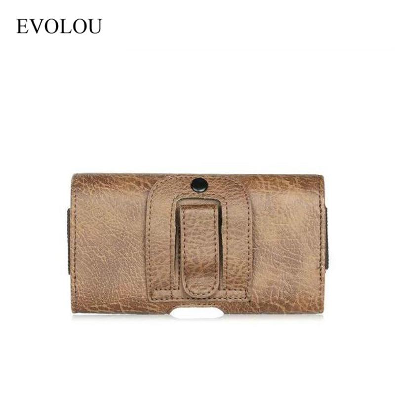 Uniwersalna torba na telefon w stylu vintage z zaczepem na pasek dla - Części i akcesoria do telefonów komórkowych i smartfonów - Zdjęcie 6