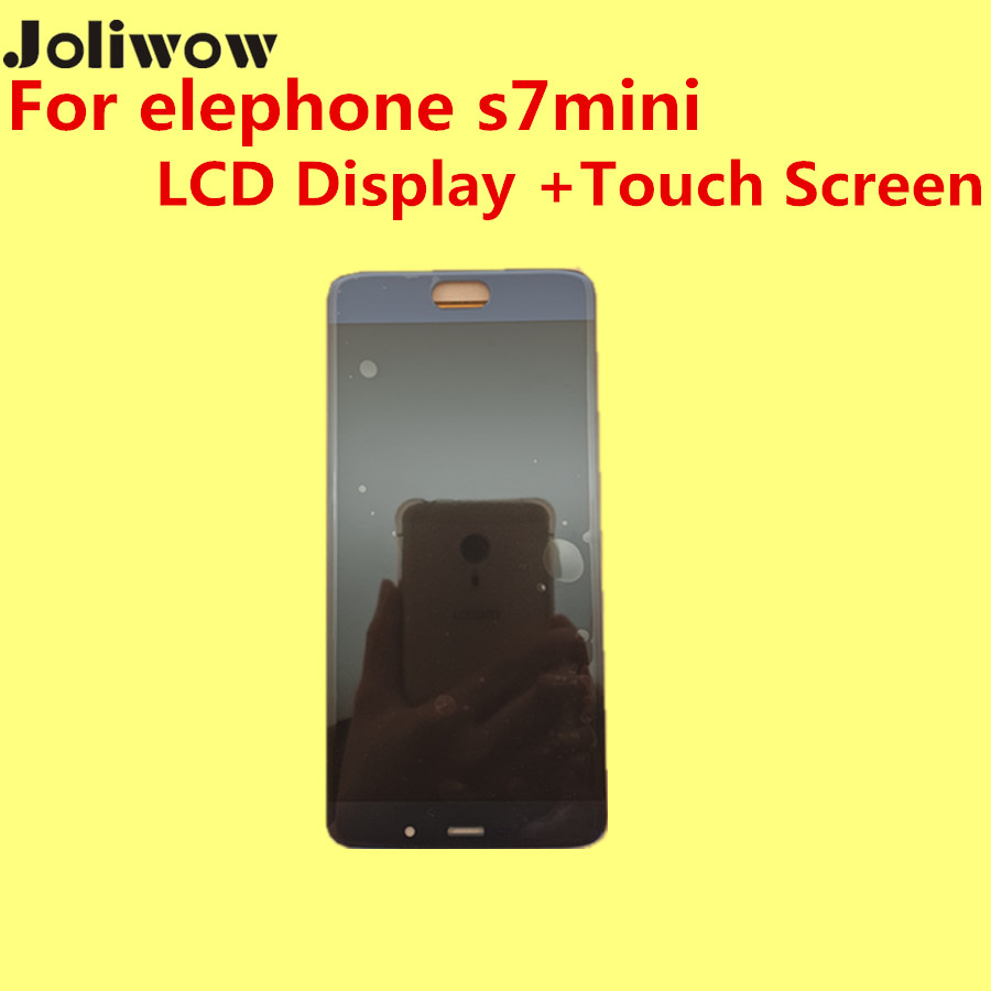 ФОТО FOR Elephone S7mini s7 MINI LCD Display +Touch Screen  Original Digitizer Assembly Replacement Accessories For Phone 5.2