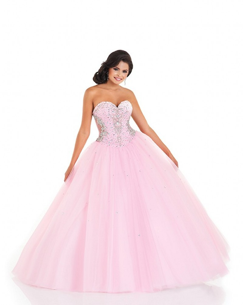 Cinderella Pink Ball Gowns