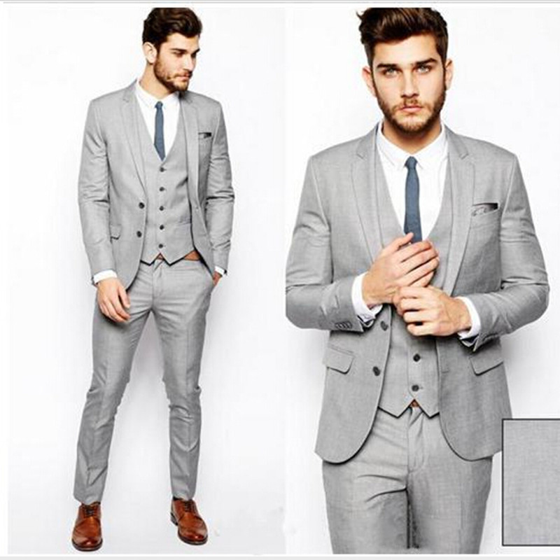 Top Selling custom made/ gray Business Suits Classic Business Suit ...