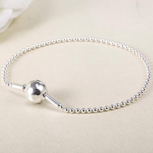Top Quality 925 Sterling Silver Panodra Bracelet Essence Collection Beaded Bangle Fit Women Bead Charm Diy Europe Jewelry top quality bright mint enamel clear cz radiant hearts of pan bangle fit europe bracelet 925 sterling silver bead charm jewelry