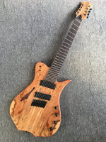 Custom shop multi scaled 8 strings guitar;Fanned Frets Free shipping(customized logo weill be added for free