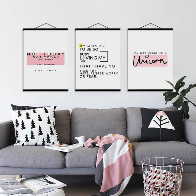 Aliexpress.com : Buy Pink Crown Diamond Sweet Quotes Wooden Framed ...