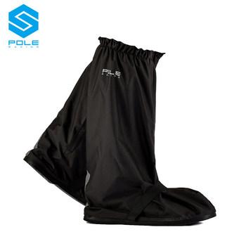 Polak motocyklowe buty przeciwdeszczowe zestaw gruby wysoki aby pomóc kalosze mężczyzn i kobiet cztery pory roku rycerz wodoodporny płaszcz przeciwdeszczowy buty jeździeckie tanie i dobre opinie POLE-RACING black