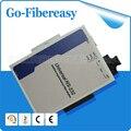 1 par RS232 a la fibra óptica módem Multi-mode puerto de fibra SC 2 km RS232 a ethernet convertidor de fibra