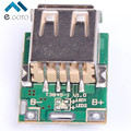 5 pcs 5 V Step-Up Módulo De Potência Conversor Boost LEVOU Exibição Placa de Proteção da Bateria De Lítio De Carregamento USB Para DIY Carregador 134N3P