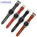 26mm derek garmin fenix 3 watch band pulseira 3 cores pulseira de couro genuíno couro de cavalo louco