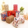 New Styles Mini Cute Christmas Portable Storage Box/ Cylinder Tea Tin Box/ Multi-purpose Storage Case