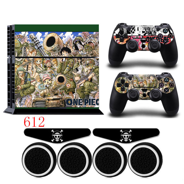 ONE PIECE PS4 Vinyl Anti-slip Skin Portective Host Sticker Decal