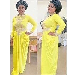 Moda Africana gran elástico fiesta bordado encaje Sexy vestido para mujer moda diseño señora (GL01 #)