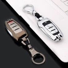 Samrt автомобильный чехол для ключей, цветная полоса, цинковый сплав, пульт дистанционного управления, брелок, чехол, брелок для ключей, кожа для Great Wall Haval Coupe H6 H7 H8 H9