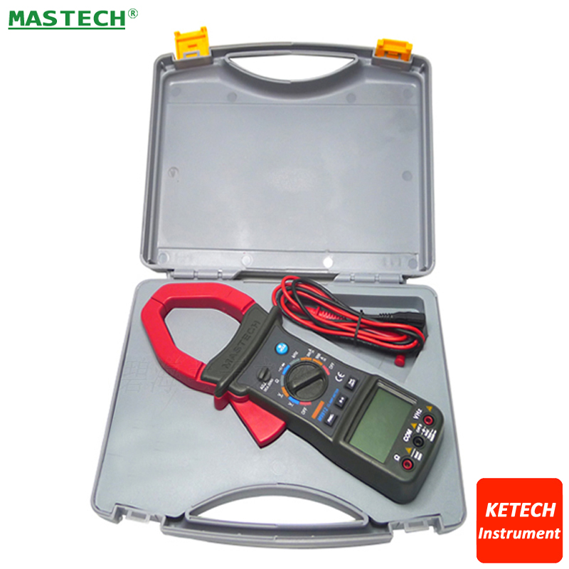 Digital AC/DC 1000A Clamp Multimeter,3200 Counts,Backlight,Frequency,CATII 1000V Mastech M9912