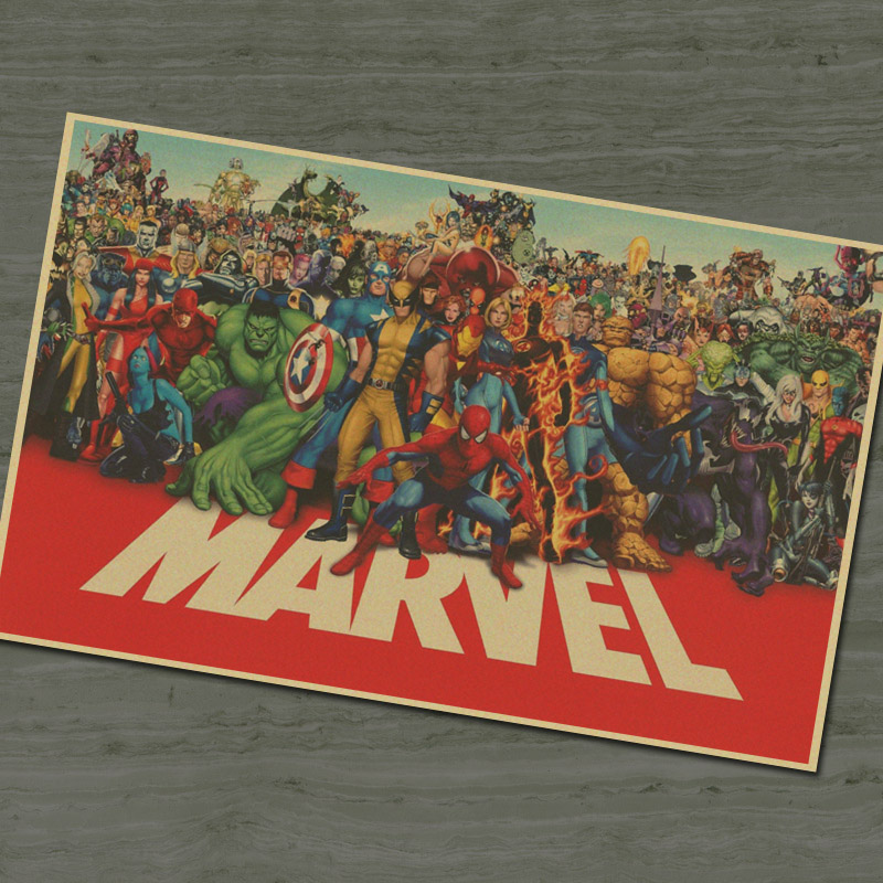 Marvel Wall Art popular marvel wall art retro-buy cheap marvel wall art retro lots