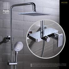 HPB Latón Termostática torneira banheiro Baño Mezclador de Baño Ducha Conjunto Grifo de Agua Caliente Y Fría HP2109