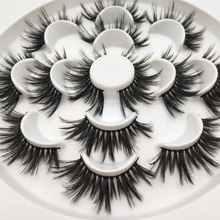 Buzzme H15 25mm lashes 3D synthetic lashes 7 pairs lashes popular eyelashes makeup