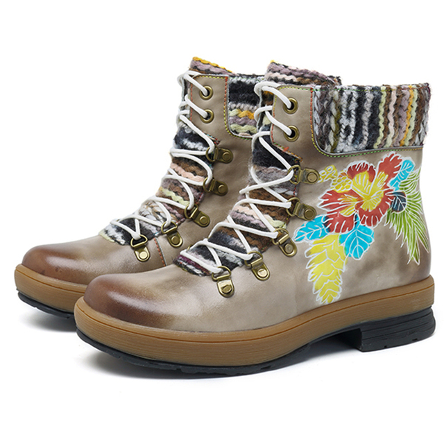 buy \u003e socofy bohemian boots, Up to 72% OFF