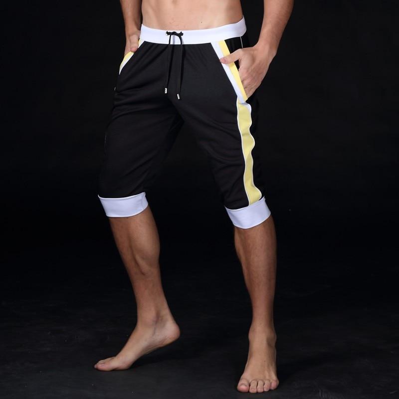 Ny sommar fritid Sport shorts män byxor elastisk märke män shorts - Herrkläder - Foto 6