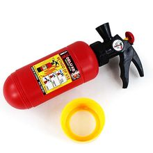 Good Quality Portable Fire Extinguisher Gas Shape Water Gun Air Pressure Beach Fireman Cosplay Role Play Toys for Kids Children