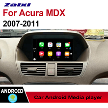 ZaiXi Auto Radio 2 Din Android Car Player For Acura MDX 2007~2011 GPS Navigation BT Wifi Map Multimedia system Stereo