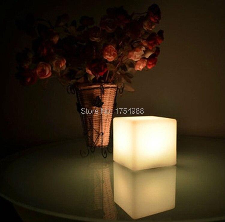 2015 Free Shipping Rechargeable 30CM Led Cube/Led Cube Seat/Led Glow Cube Stools Led Luminous Light Bar Stool Color Changeable