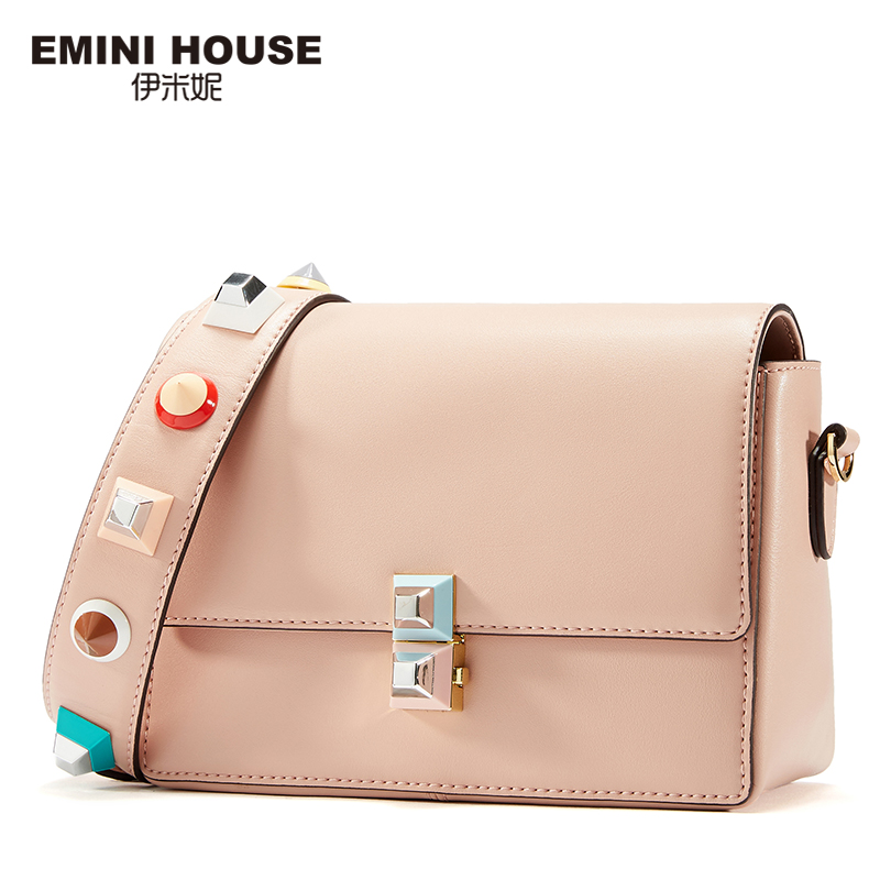 EMINI HOUSE Acrylic Crossbody Bag Women Messenger Bags Luxury Shoulder Bag for Women Lady Purse with Acrylic Shoulder Strap new bag strap chain wallet handle purse acrylic resin strap chain strap replaced bag strap bag spare parts