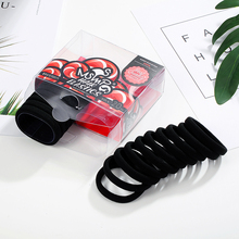 CHIMERA Elastic Ponytail Holder 20Pcs/set Classic Cotton Hair Tie Bands for Women 1cm Thick Seamless Rope Accessories