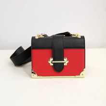 Fashion Rivets Plug Flap Package New Autumn Matte Shoulder Messenger Bag Vintage Patchwork Cover Lock Crossbody Bags BG317