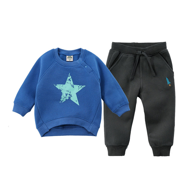 Fashion Spring Kids Boys Cartoon Sport Suits Baby Girls Clothing Sets tee+pant Costume Toddle Children Casual Tracksuits Clothes