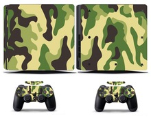 Camouflage 271 PS4 Slim Skin Sticker Vinyl Cover